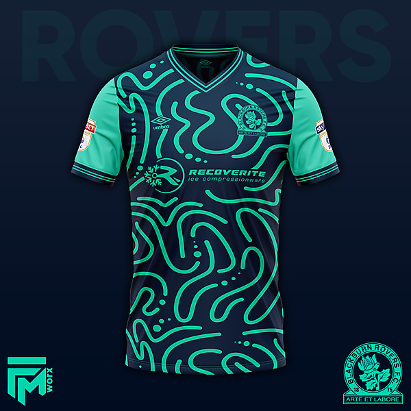Blackburn Rovers Third 2020/21 Concept Design