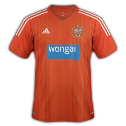 Blackpool fantasy kits with Adidas