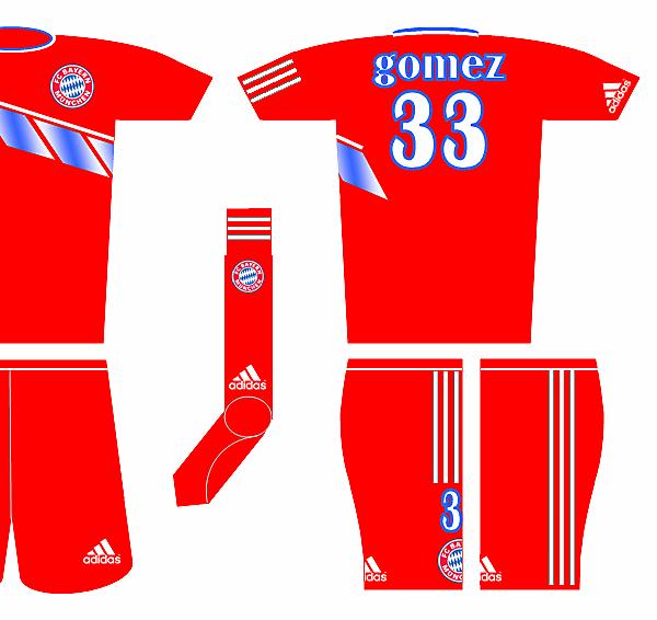 Adidas Fantasy Kit - Bayern Munchen Home