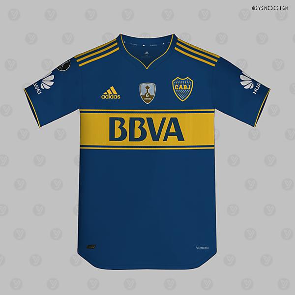 Boca home kit x adidas