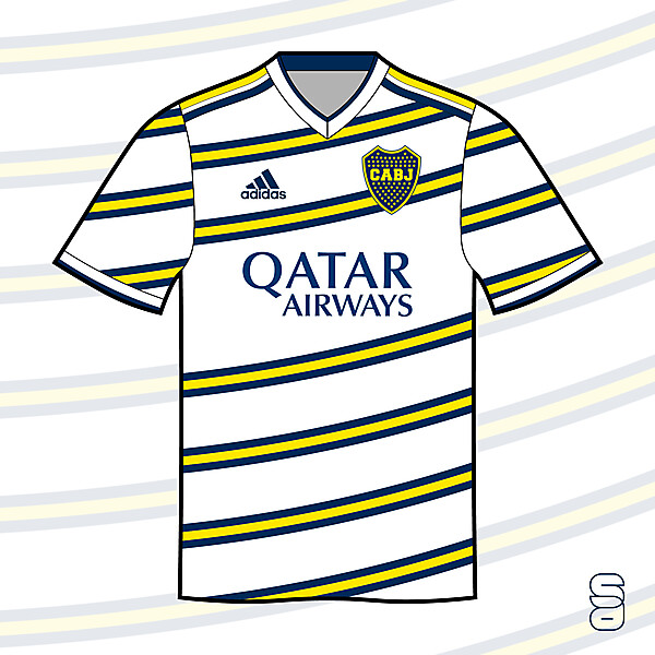 Boca Jrs. - Away kit