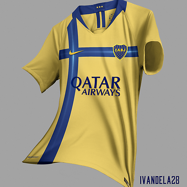 Boca Jrs Away Kit