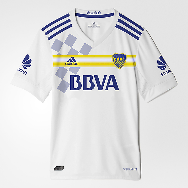 Boca Jrs away Kit Adidas