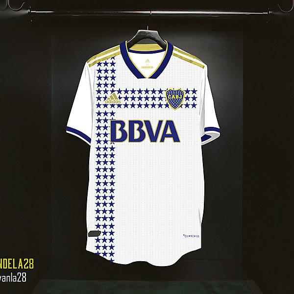 Boca Jrs Away Kit Adidas V1