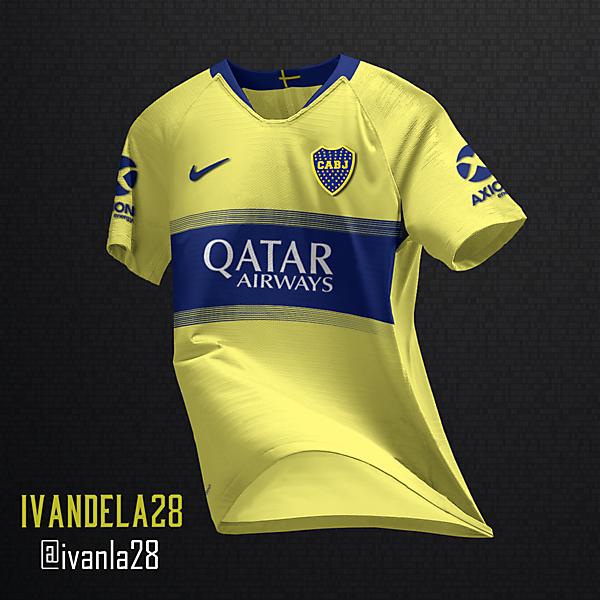 Boca Jrs Away Kit Nike