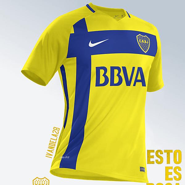Boca Jrs Away Kit Nike v3
