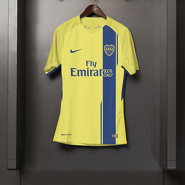 Boca Jrs Third Nike