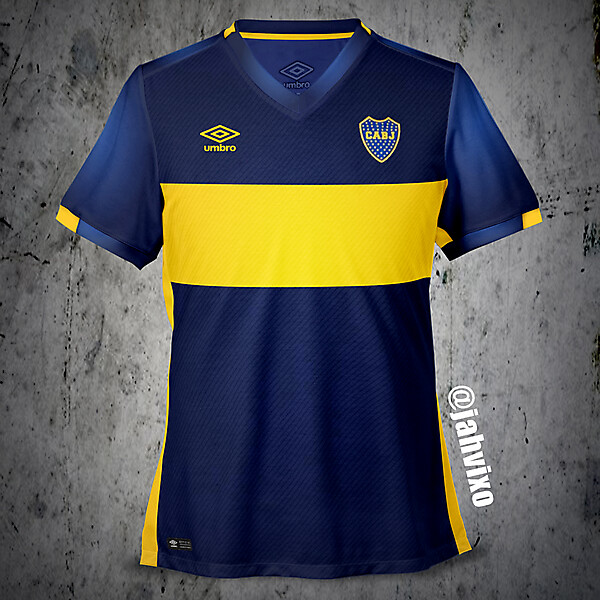 Boca Jrs Umbro jersey