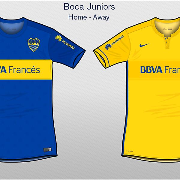 Boca Juniors   Home - Away