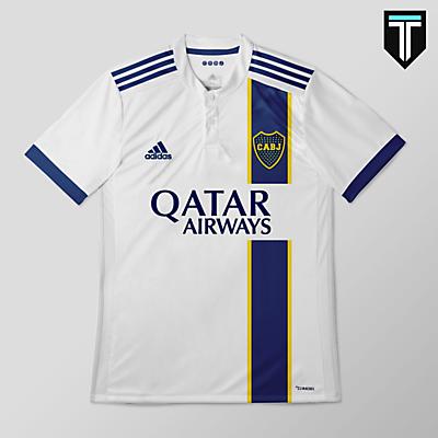 Boca Juniors x Adidas - Away Kit Concept