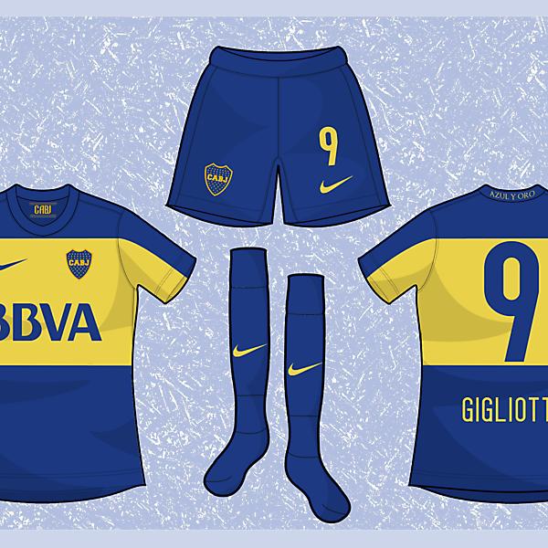 Boca Juniors Concept