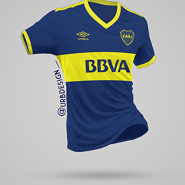 Boca Juniors Home by Umbro