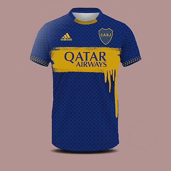 Boca Juniors home shirt concept