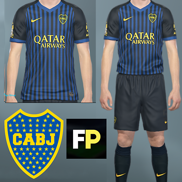 Boca Juniors Third by @feliplayzz #1