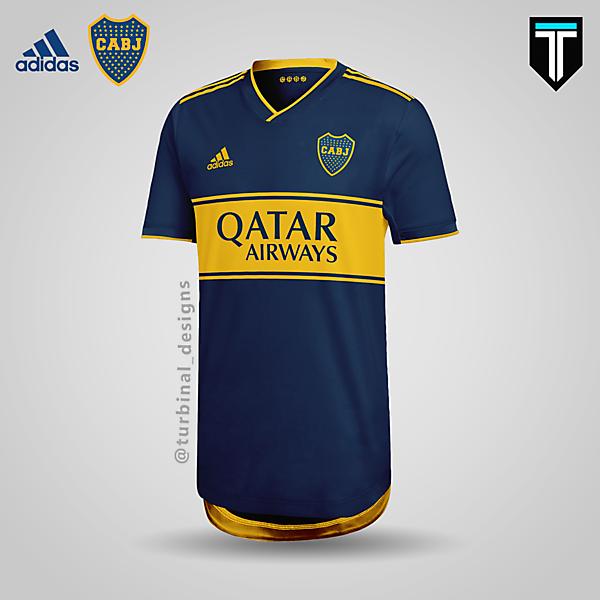 Boca Juniors x Adidas - Home Kit