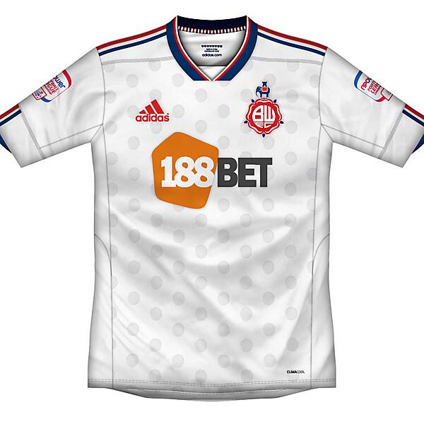 Bolton Wanderers home shirt