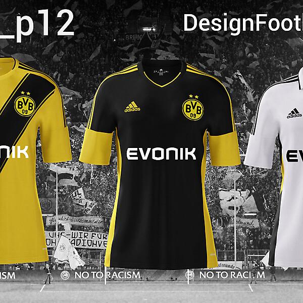 Borussia Dortmund Adidas Fanatsy Kits