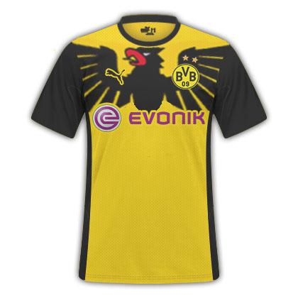 Borussia Dortmund Fantasy Home Kit