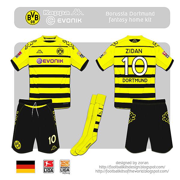 Borussia Dortmund fantasy home