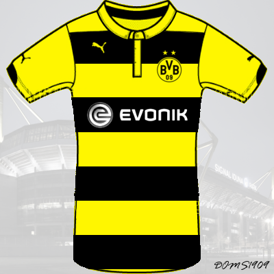Borussia Dortmund - PUMA ACTV Home Kit - #3