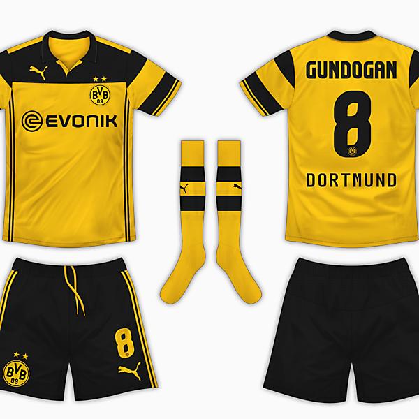 Borussia Dortmund Home Kit - Puma