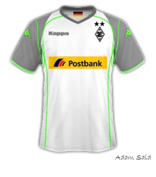 Borussia Mönchengladbach 14-15 Home Kit