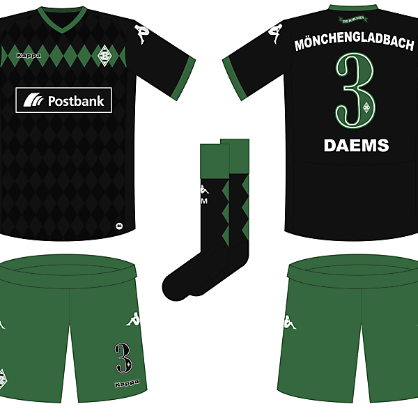 Borussia Mönchengladbach Away Kit