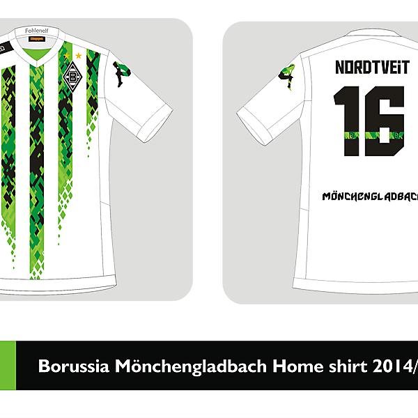 Borussia Mönchengladbach Home shirt 2014/2015