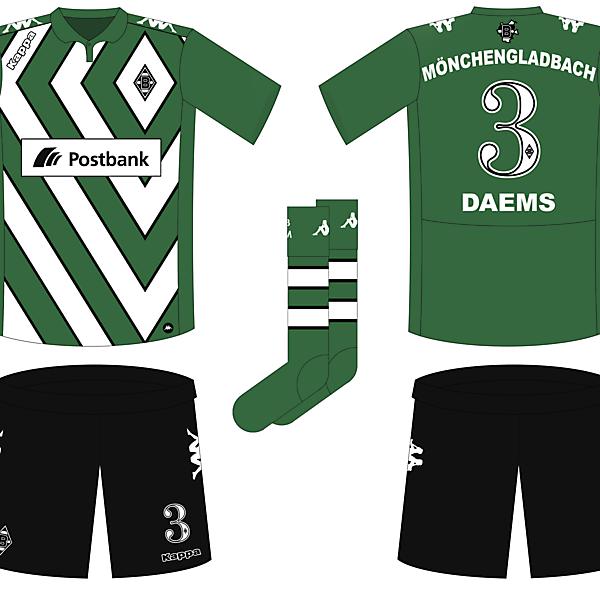 Borussia Mönchengladbach Third Kit