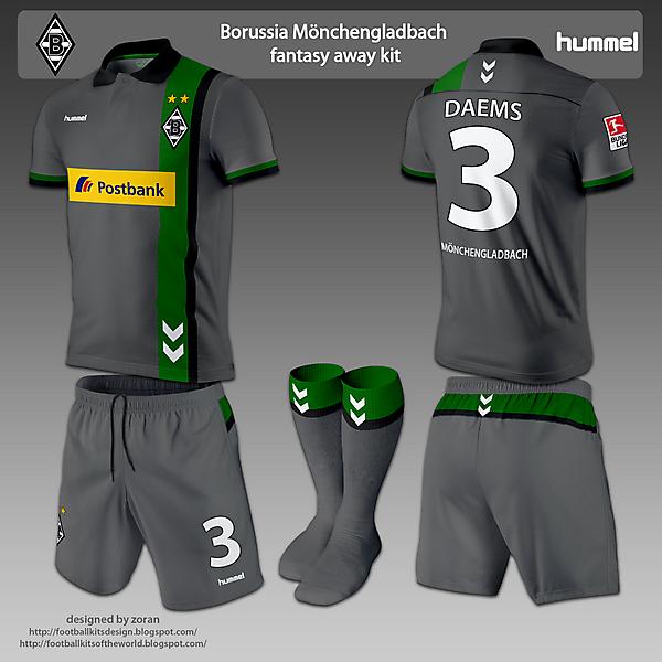 Borussia Monchengladbach home and away