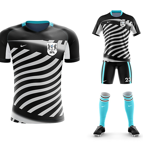 Botswana FA change kit conceptual