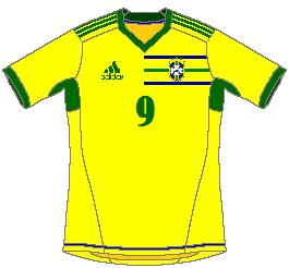 Brasil Adidas Home