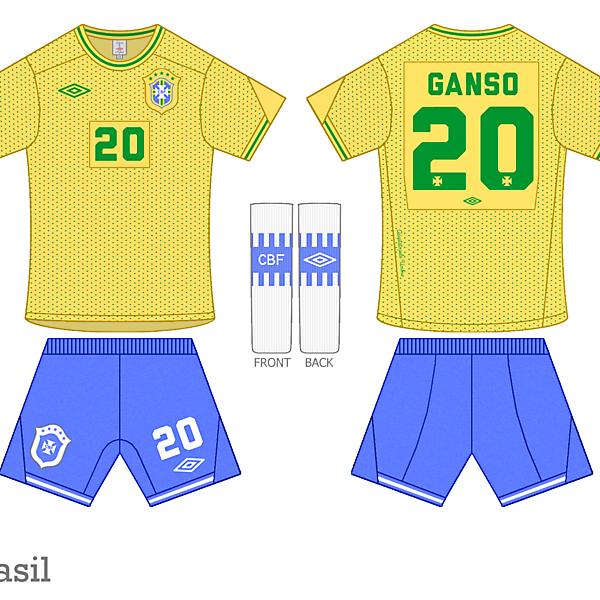 Brazil Adaptato pela Umbro