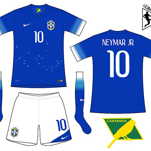 Brazil - Away kit