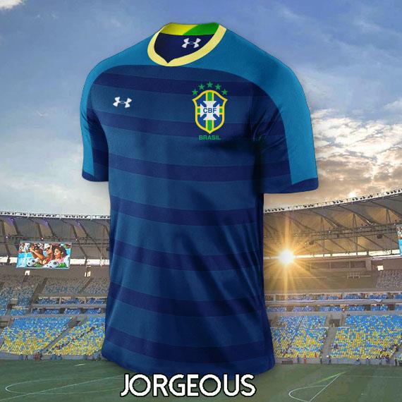 Brazil UNDER ARMOUR AWAY Kit