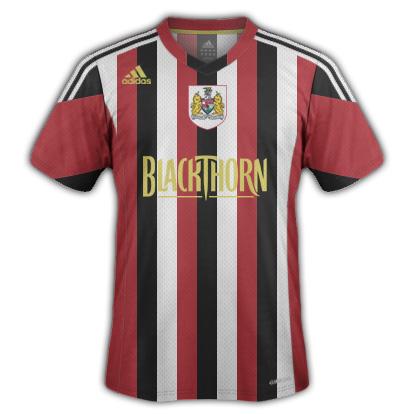 Bristol City FC kit