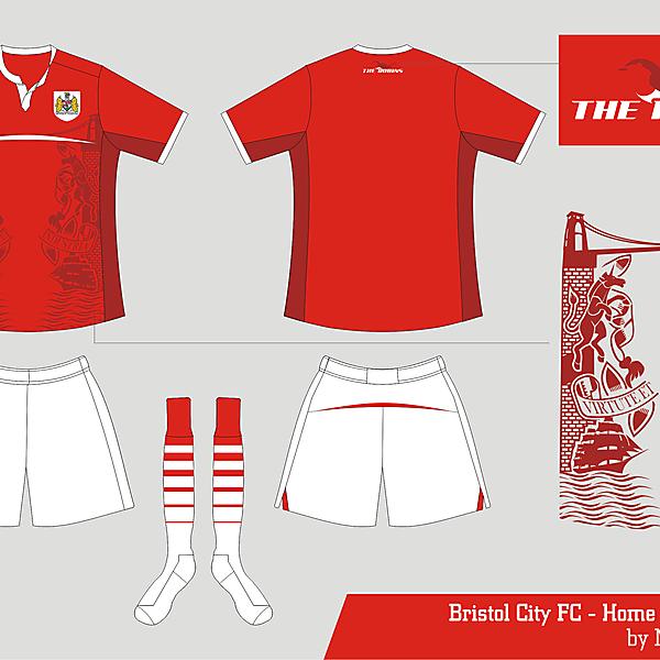 Bristol City Home kit 2014  Proposal