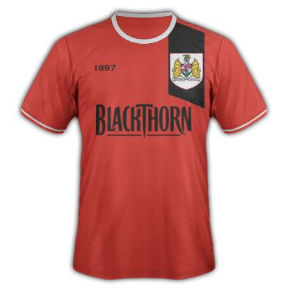Bristol City kit