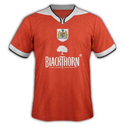Bristol City special made kit