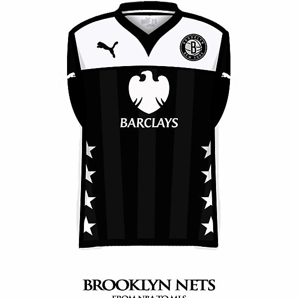 Brooklyn Nets home shirt