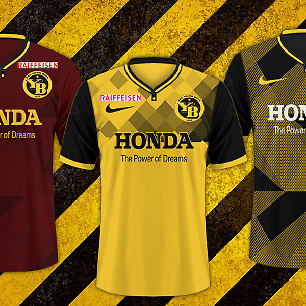BSC Young Boys / Nike Kits