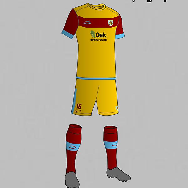 Burnley (England) Third Kit 2016