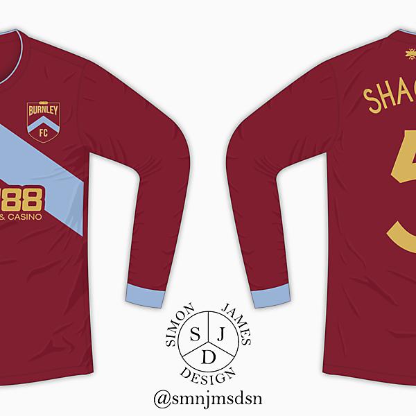 Burnley FC Home Shirt - Rebrand