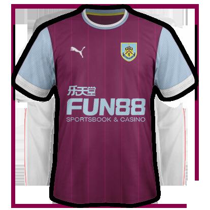 Burnley Home Kit 15/16