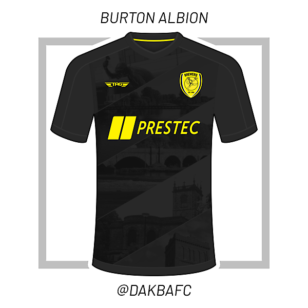 Burton Albion 'Landmark' Third