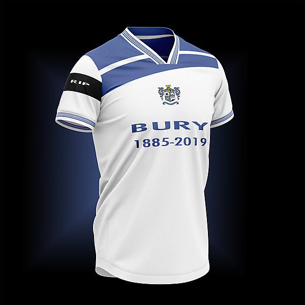 BURY FC RIP