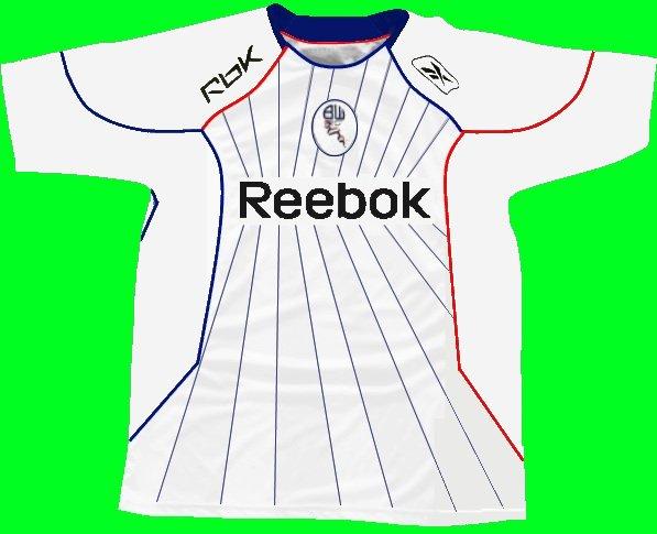 Bolton Wanderers shirt 2