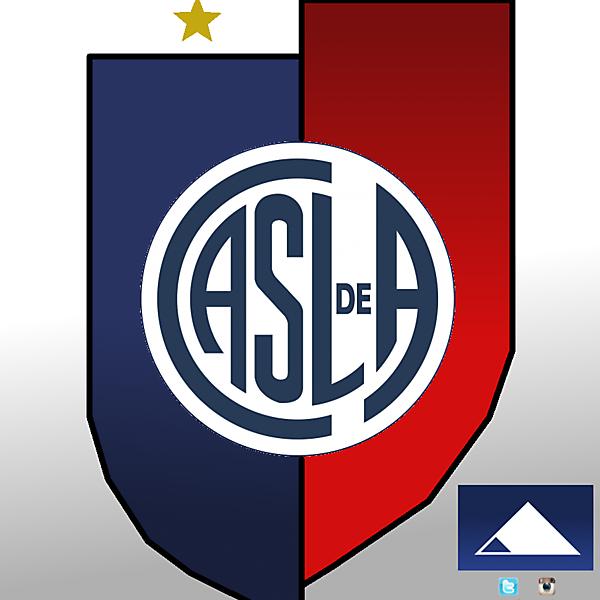 CA San Lorenzo de A. crest design