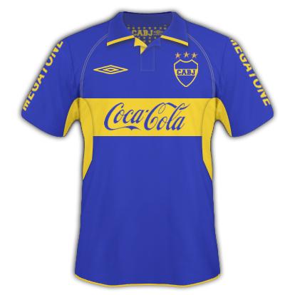 Boca Juniors Home + Umbro