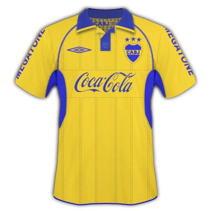 Boca Juniors Away + Umbro